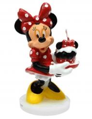 Minnie 3D Geburtstagskerze 4,5 x 9 cm