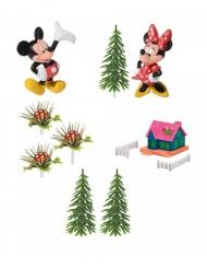 Kit von 9 dekorativen Stücken Mickey und Minnie 10 x 26 x 6 cm