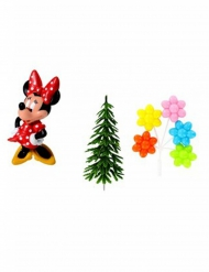 4 teiliges Dekorationsset Minnie