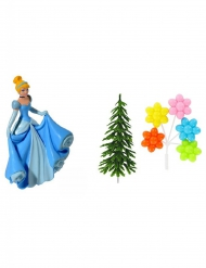 4 Dekofiguren Cinderella Kuchen