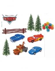 7-teiliges Dekorationsset von Cars