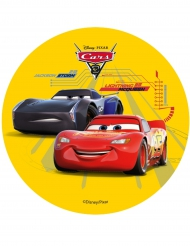 Kuchenauflage Cars 3 Flash McQueen Jackson Storm 14,5 cm