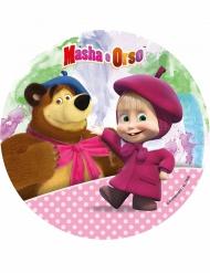 Kuchenplatte Masha und der Bär