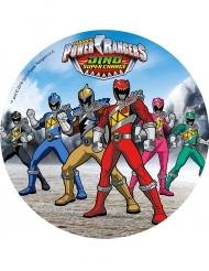 Kuchenauflage Power Rangers 21 cm