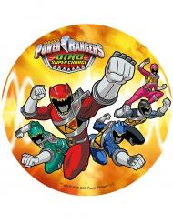 Power Rangers Kuchendekoration Bunt 21 cm