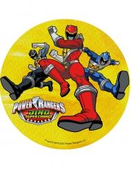 Power Rangers Kuchendekoration Gelb 21 cm