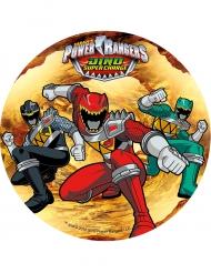 Power Rangers Kuchendekoration Scheibe 21 cm