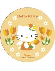 Hello Kitty Kuchendekoration Gelb 21 cm