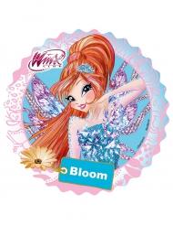 Kuchendekoration rund Winx Bloom 21 cm