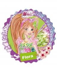 Kuchendekoration Winx und Flora 21 cm