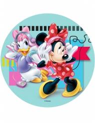 Kuchendekoration Mickey Minnie und Daisy 21 cm