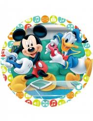 Mickey Mouse und Donald Duck Tortenaufleger 21 cm