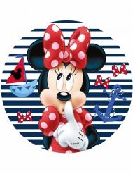 Minnie runde Kuchendeko 21 cm