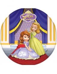 Kuchenplatte rund Prinzessin Sofia 21 cm