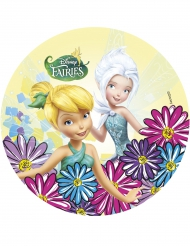 Tinkerbell und Crystal Tortenaufleger 21 cm
