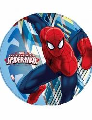 Spiderman™-Tortenbild Backzubehör Marvel™ bunt 21cm