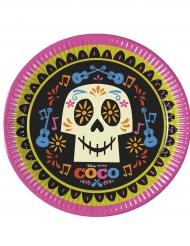 8 Pappteller Coco 23 cm Halloween