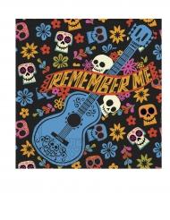 20 Papierservietten Dia de los Muertos Coco