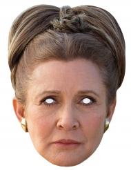 Star Wars™-Pappmaske Prinzessin Leia Hautfarben-braun