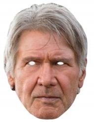 Star Wars™-Pappmaske Han Solo beige-grau