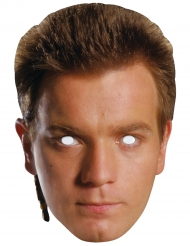 Star Wars™ Pappmaske Obi Wan Kenobi™ Lizenzprodukt hautfarben