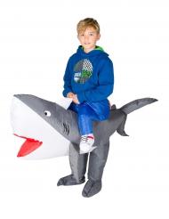 Haifisch Huckepack Kostüm