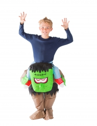 Carry-Me Monster-Kostüm für Kinder bunt