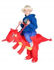 Drachen Huckepack Kostüm für Kinder