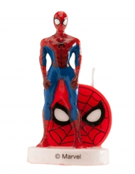 Superhelden Spiderman™-Kuchenzubehör rot-blau 6cm