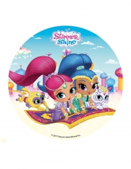 Shimmer & Shine™ Tortenaufleger 16 cm bunt