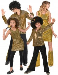 Disco Kostüm für die Familie