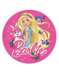 Barbie Zuckerscheibe mit Schmetterlingen 20 cm