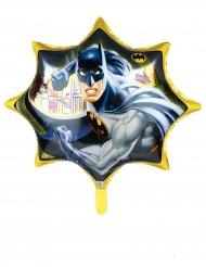 Riesiger Aluminium Ballon Batman gelb 71 cm