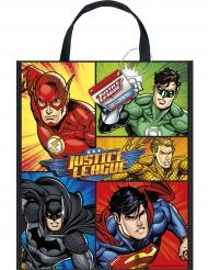 Justice League™ Geschenkbeutel aus Kunststoff 33 x 28 cm