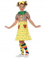 Stilvolles Clownkostüm für Kinder Zirkus bunt