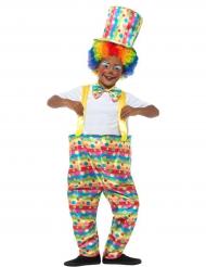 Clown-Verkleidung für Jungen Zirkus bunt