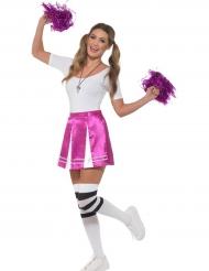 Cheerleader Kostümset für Damen violett