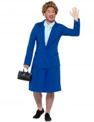 Witziges Kostüme der eisernen Dame Premierminister