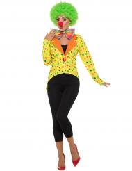 Clown-Kostümzubehör für Damen Zirkus bunt