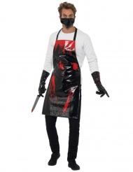 Blutiges Fleischer Kostüm für Erwachsene Halloween