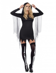Sexy Sensenmann Kostüm für Damen Halloween