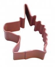 Einhorn Stahl-Ausstechform silber 4,4 cm
