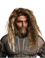 Aquaman™ Perücke und Bart Set für Erwachsene