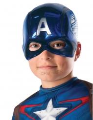 Halbmaske Captain America™ für Kinder