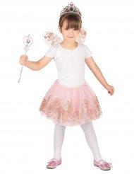 Feenhaftes Kostüm-Set für Mädchen Märchen rosa