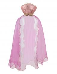 Meerjungfrau Umhang für Mädchen rosa