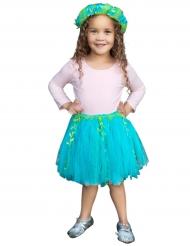 Süsses Meerjungfrauen Kostümzubehör für Mädchen türkis