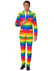 Opposuits™-Herrenanzug Regenbogen bunt