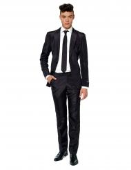 Mr. Black-Solid-Suitmeister™ Herrenanzug schwarz