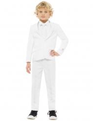 Mr. White Opposuits™-Anzug für Kinder weiss